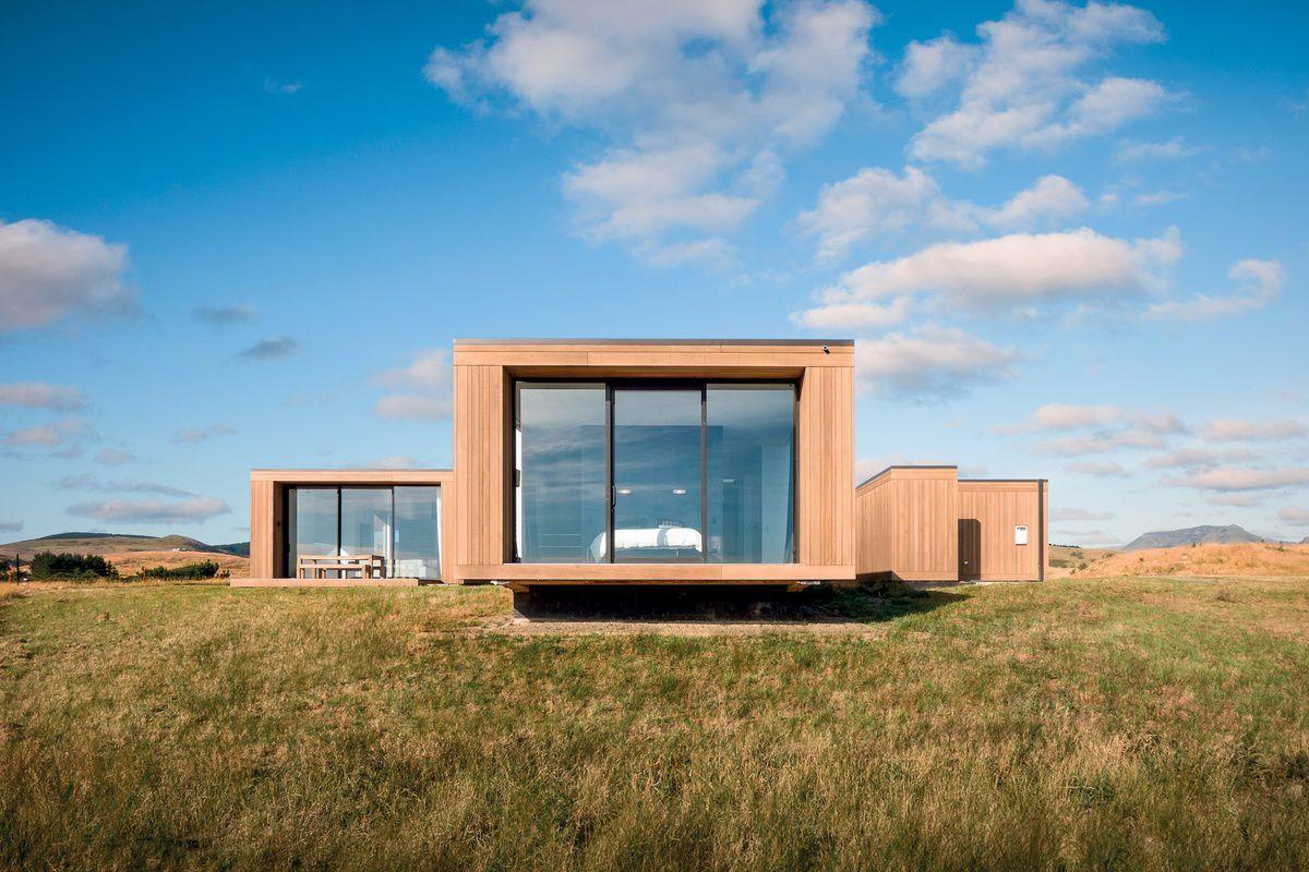 Ungewöhnlich Bold Design Holzhäuser Garten Fotos - Die Designideen ...