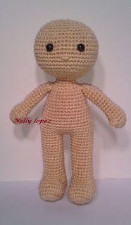 A Yarnful Day: Mina doll pattern #bonecas