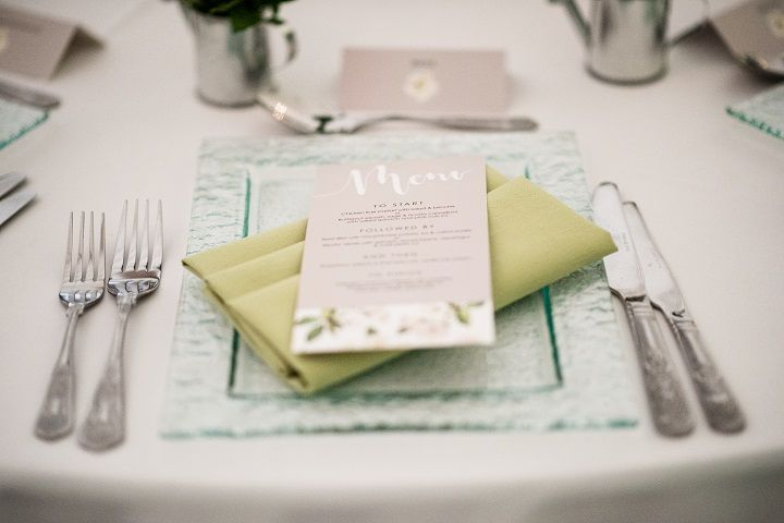 How to use Pantone Greenery and Pale Dogwood to create your dream wedding from Hayne House