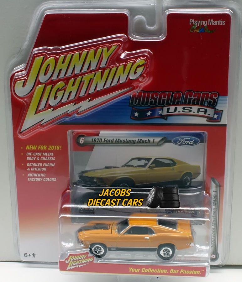 1//64 JOHNNY LIGHTNING MUSCLE SERIES 2 1969 Oldsmobile 442 in Platnium