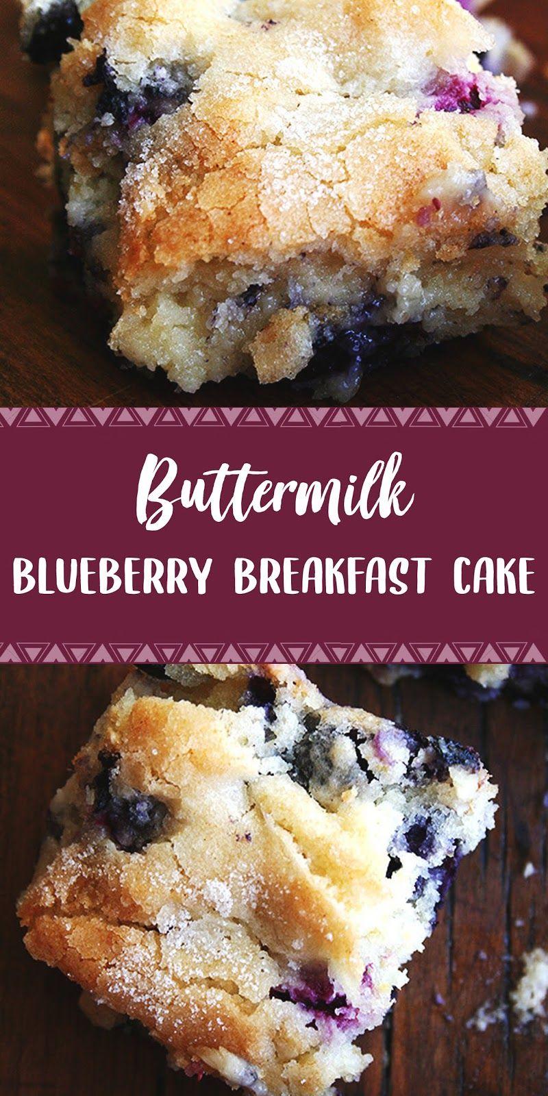 Buttermilk Blueberry Breakfast Cake | DAPUR SIMBAH #buttermilkblueberrybreakfastcake