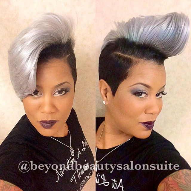 Com Do It Hair Diva Fantasia Gray Purple Cut Is