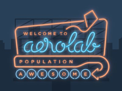 Welcome to Aerolab: Neon!