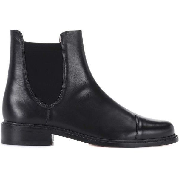 Stuart Weitzman Charlene Bronson leather Chelsea boots Deals Cheap Price 7LDjFrI11