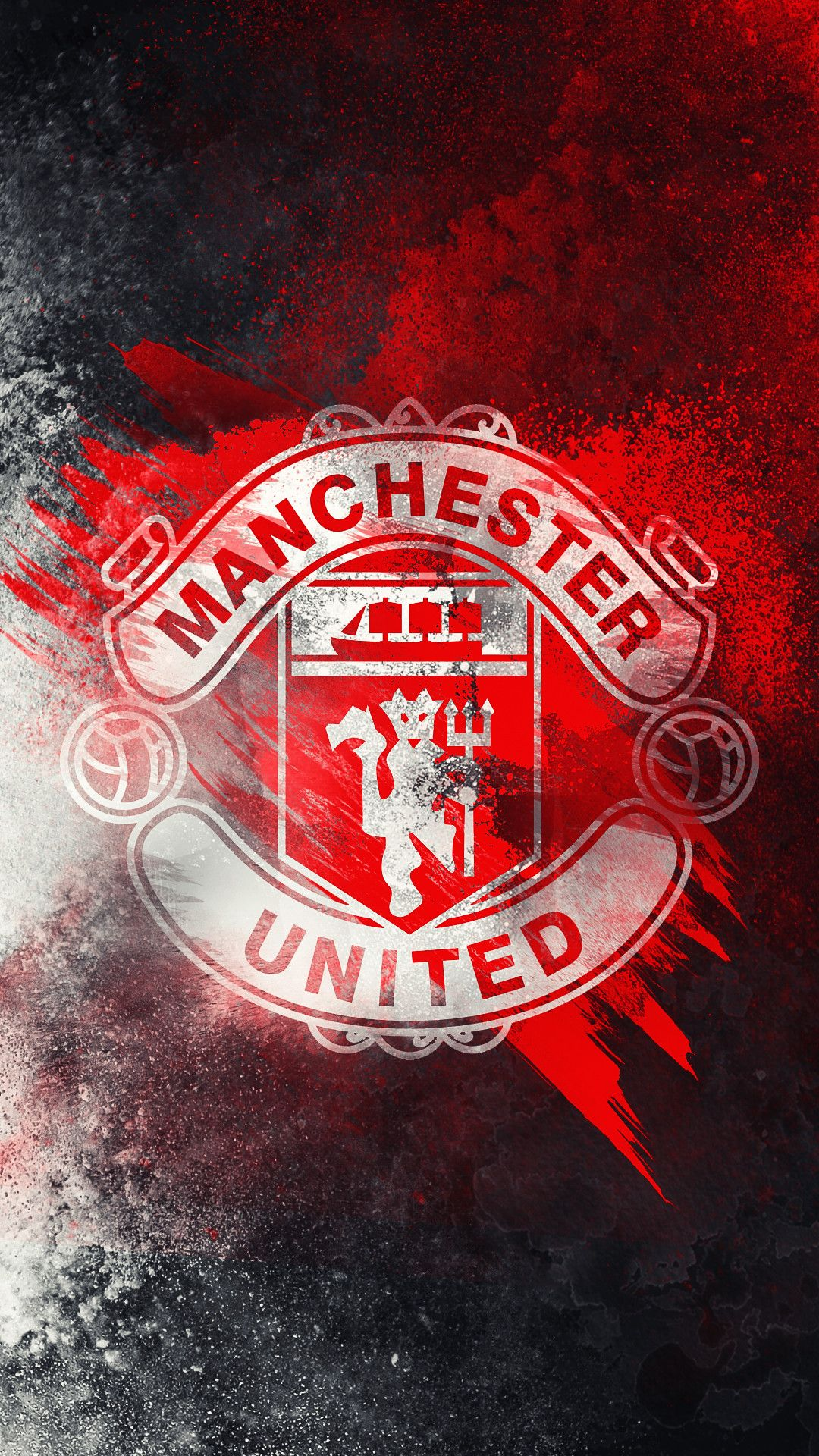 Manchester United Hd Logo Wallpaper By Kerimov23 Manchester United Wallpapers Iphone Manchester United Logo Manchester United Wallpaper