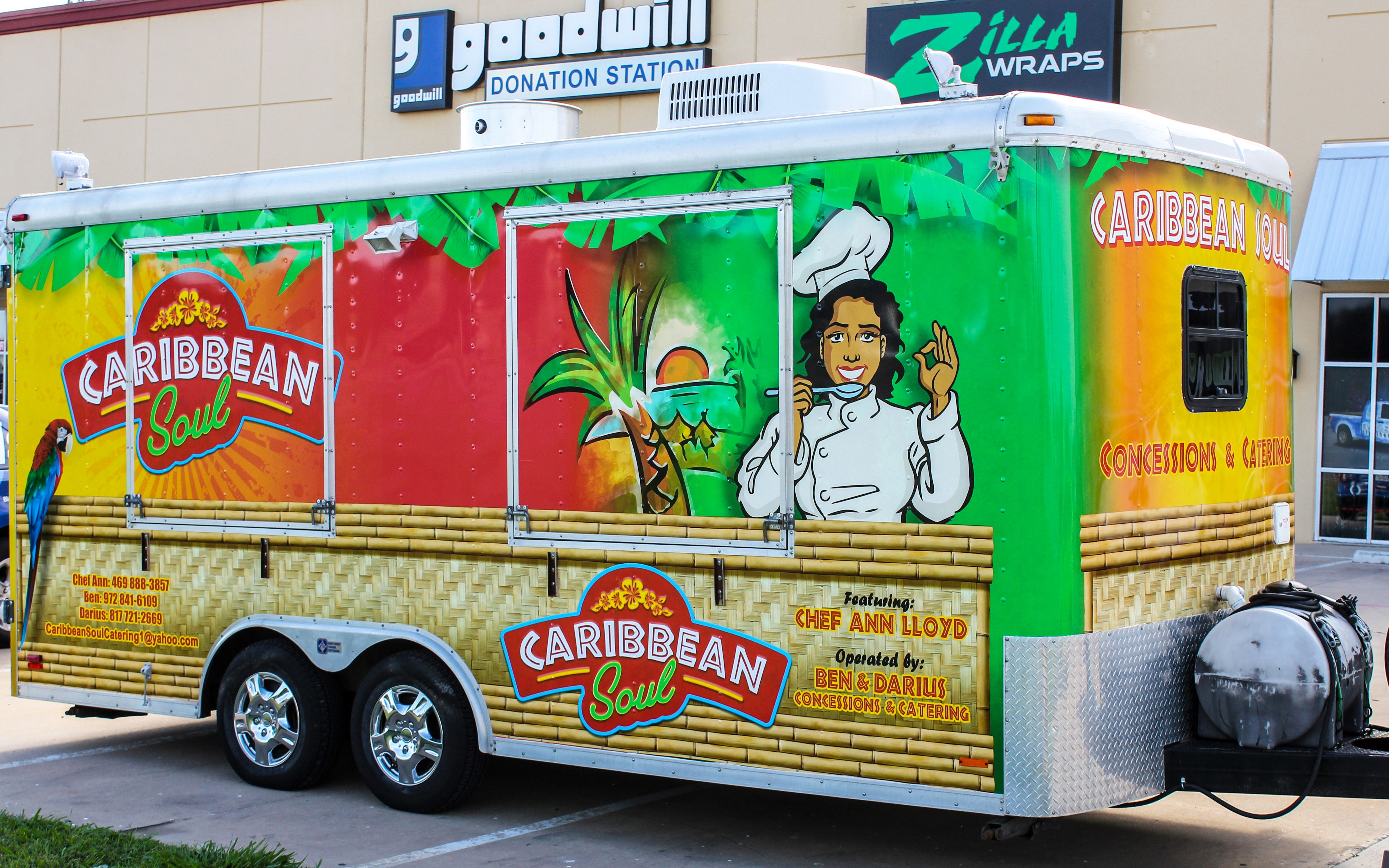 Caribbean food truck food truck design food truck food