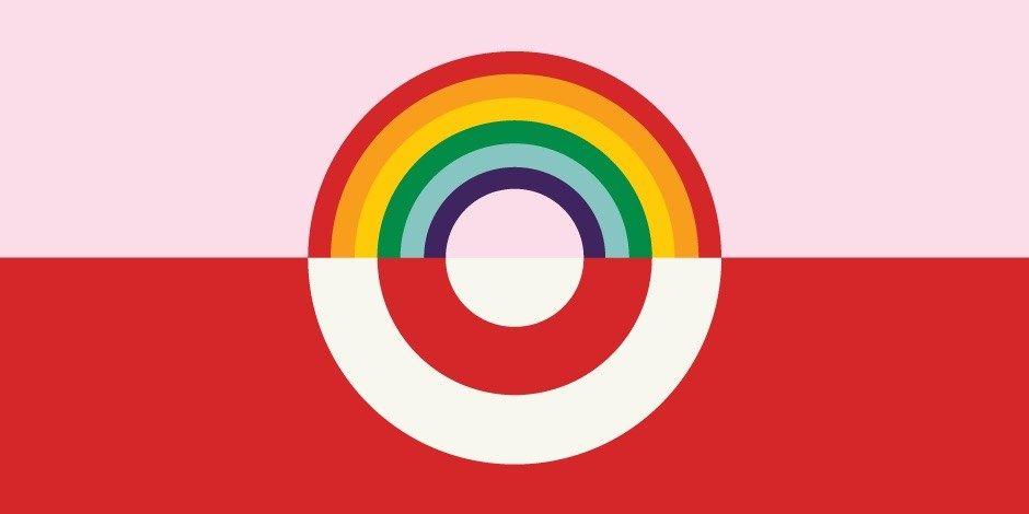 Target Lgbt Rainbow Logo Logos Pinterest Logos