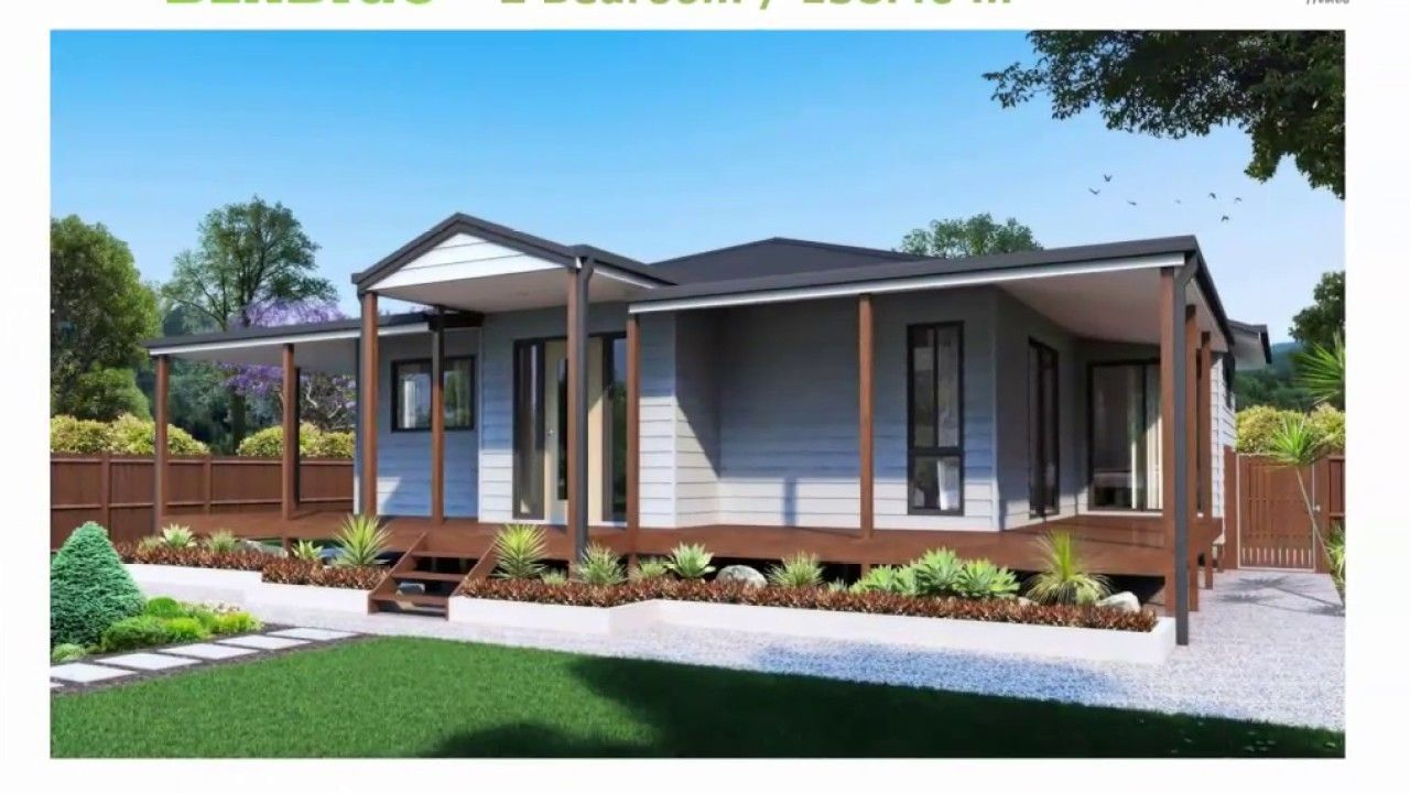 Ibuikd Kit Homes Design 2 Bedroom Bendigo Kit Homes Australia Kit Homes House Design
