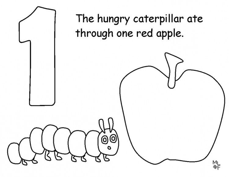 Very Hungry Caterpillar Coloring Page The Very Hungry Caterpillar  Activities, Hungry Caterpillar Activities, Very Hungry Caterpillar