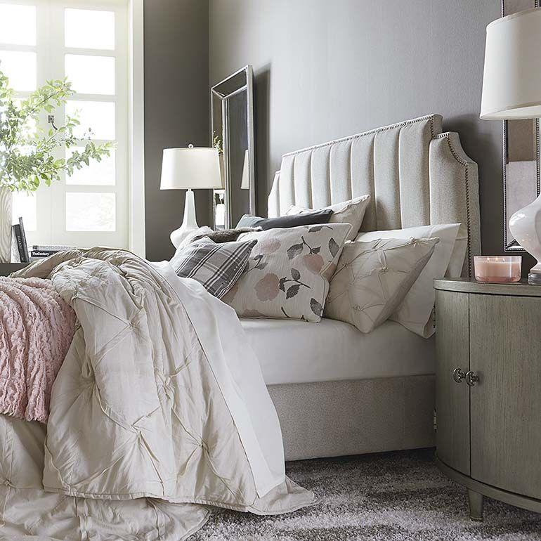 Custom Uph Beds Princeton Step Rectangular Bed