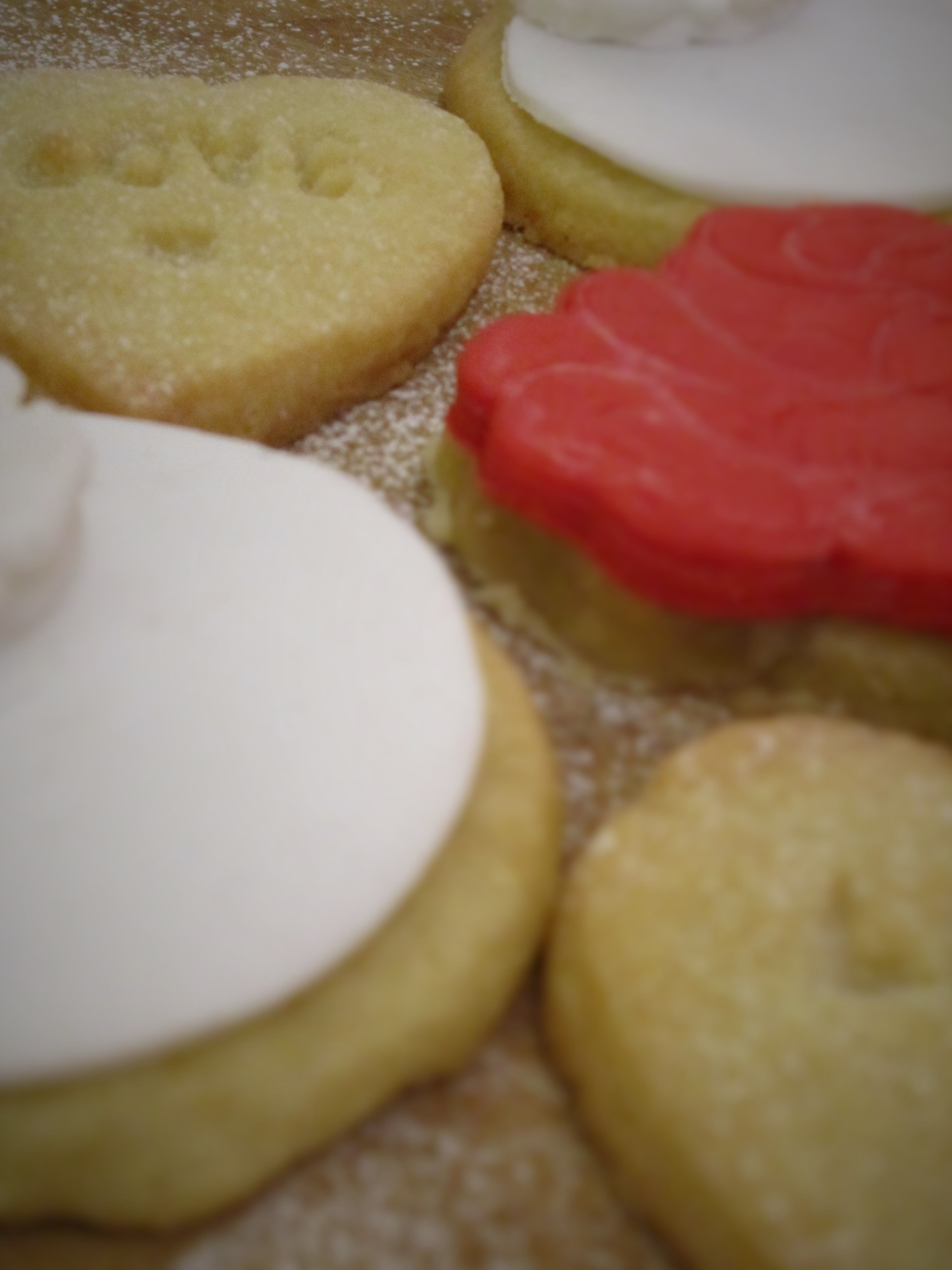 Love, flower and rose biscuits..great for weddings and valentines day