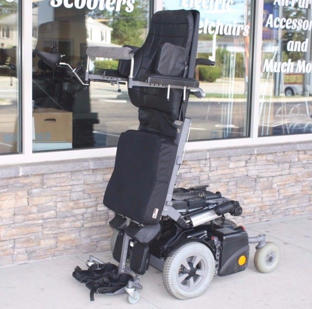 Permobil Chairman 2K Standing Wheelchair Tilt, Elevate