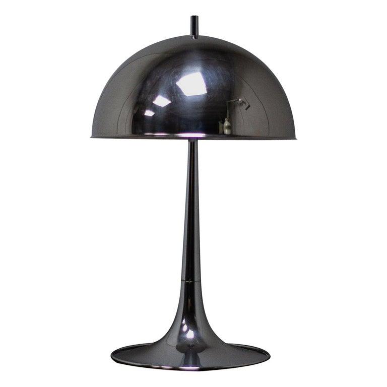 Reggiani Lamp Chrome Lamp Lamp Table Lamp