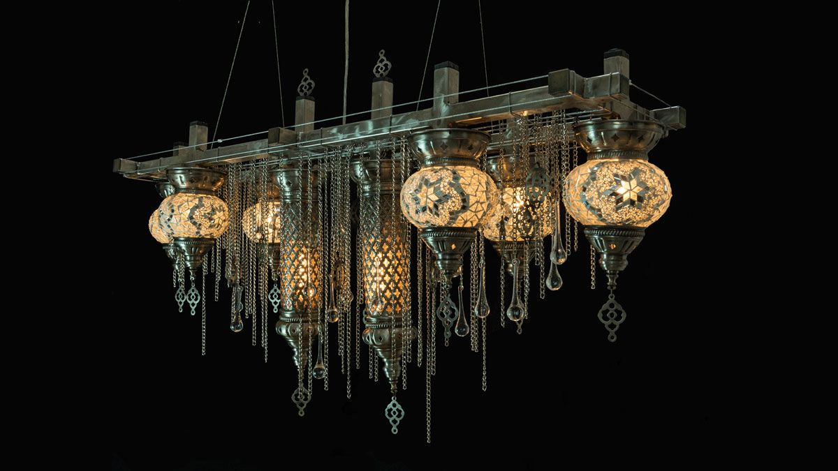 Industrial Chandeliers and Unique Artistic Lighting
