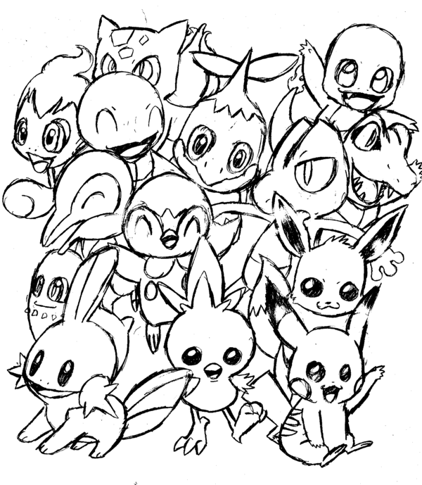 16++ Cute chibi super cute baby pokemon coloring pages inspirations