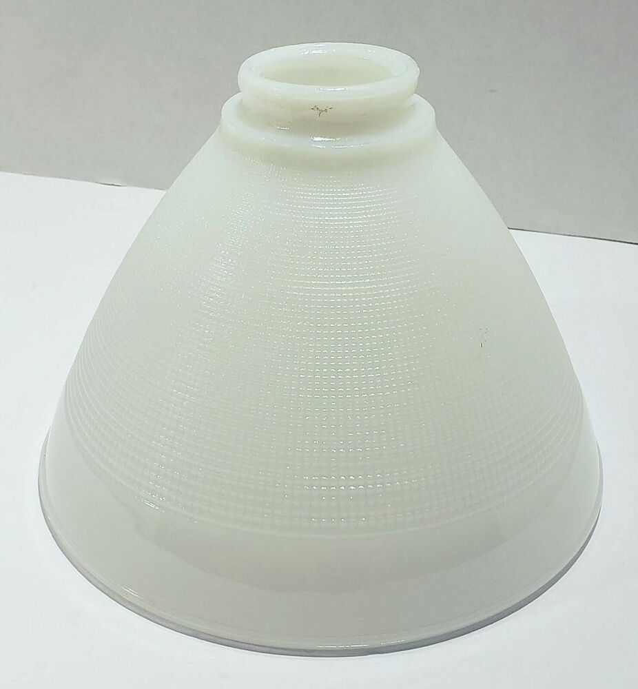 Details About Vintage White Milk Glass Torchiere Lamp Shade 8 Diameter Waffle 2 1 4 Fitter Torchiere Lamp Shade White Milk Glass Torchiere Lamp