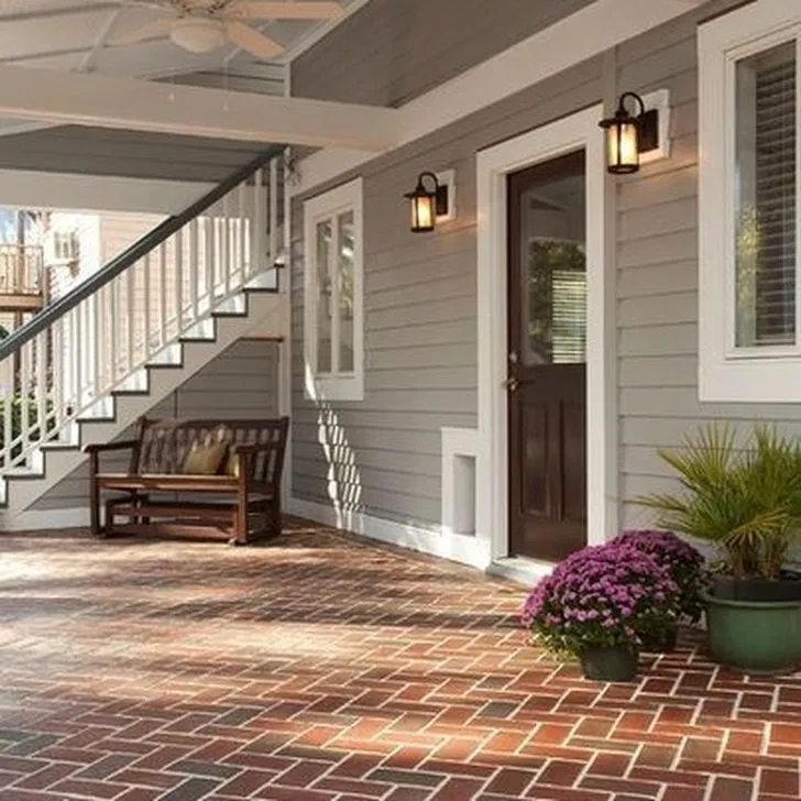stunning exterior paint colors red brick ideas 36 in 2020 on exterior home paint ideas pictures id=33566
