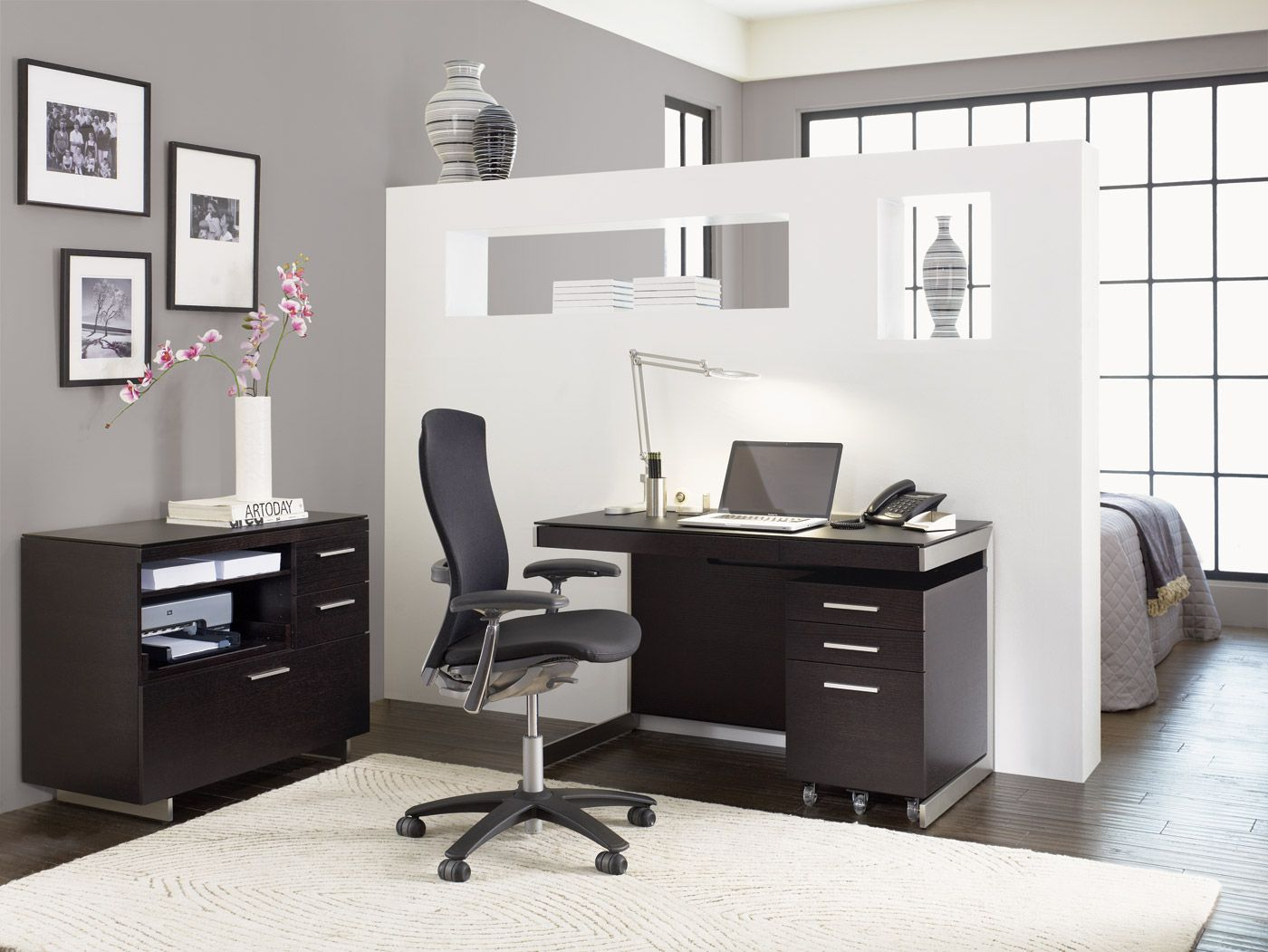 Sequel Office And Desk By Bdi Home Office Design Furniture