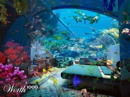 Under the sea bedroom this would be sooooo amazing for Austin. What ...
