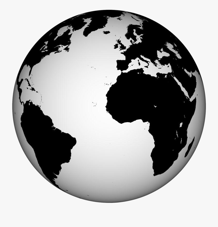 Globe Clipart Black And White In 2021 Clipart Black And White Clip Art Globe Clipart