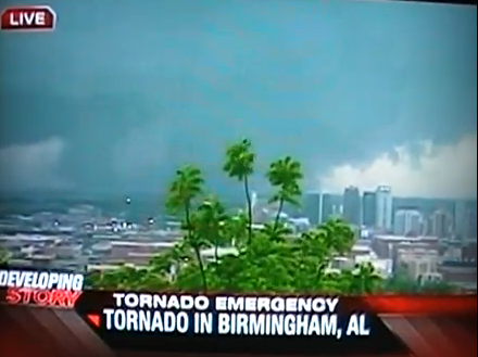Weather Channel Coverage Live Video From NBC13 in Birmingham