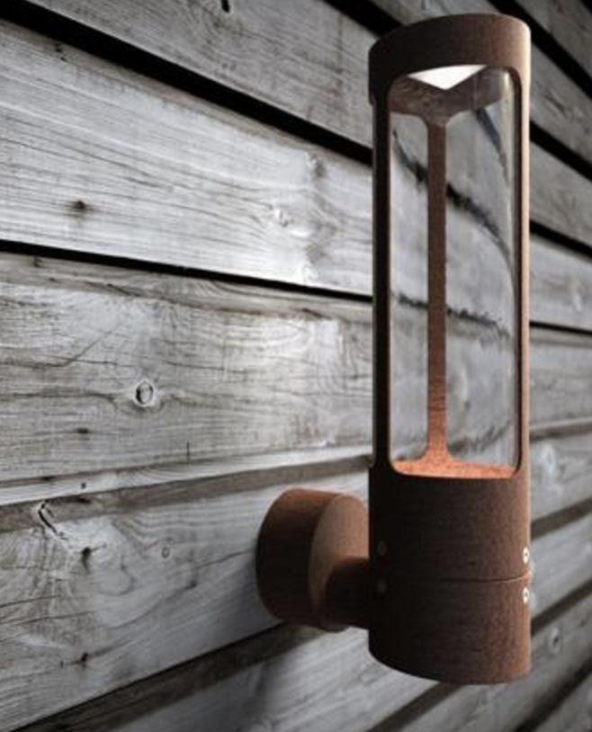 Helix Corten Steel Exterior Wall Light Nordlux Led Outdoor Wall Lights Outdoor Wall Lighting Exterior Wall Light