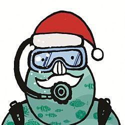 Diving Santa at Seattle Aquarium Seattle, WA #Kids #Events