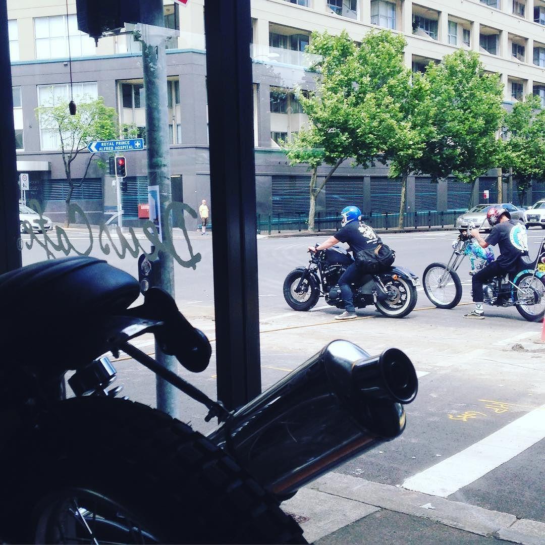 Pit stop at @deuscafe #deusexmachina by georgekgeorgek