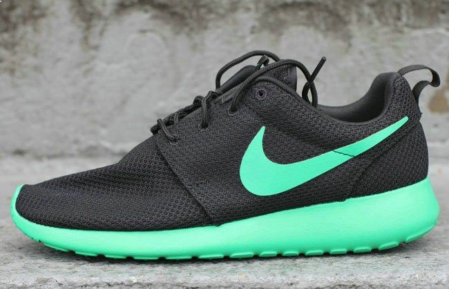 new style 54a72 b7d58 Nike - Roshe Two Flyknit (black) - 844833-001