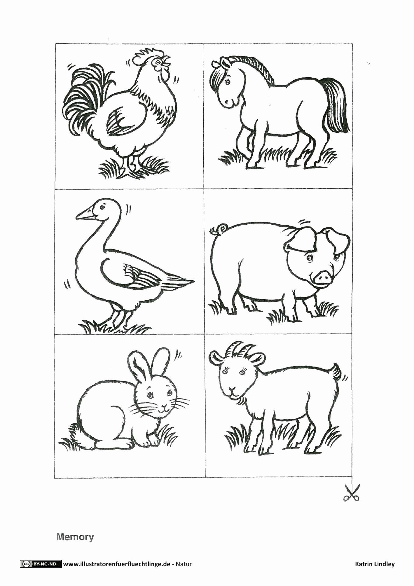Farm Animals Coloring Pages Pdf Luxury Download Als Pdf 2 Seiten Natur Bauernhof Tiere Memory In 2020 Farm Animal Coloring Pages Farm Animals Coloring Pages