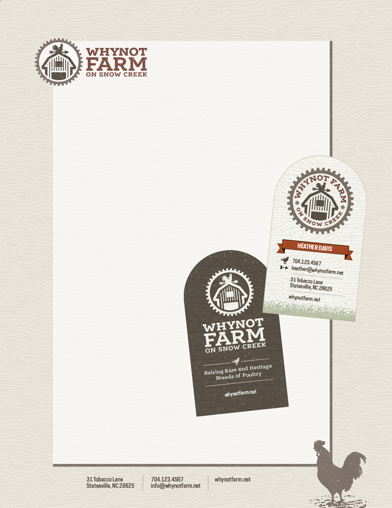 Whynot farm business card design stationary design design whynot farm business card design stationary design magicingreecefo Choice Image
