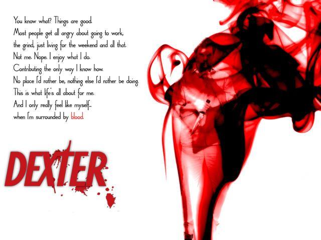 Dexter Quote Dexter Quotes Dexter Dexter Morgan