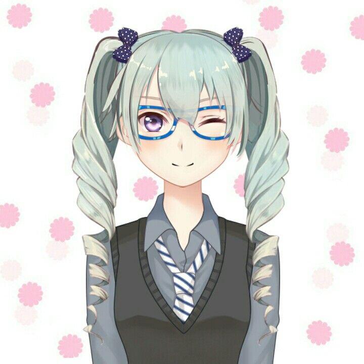 Natural School Girl Anime Maker Anime Art