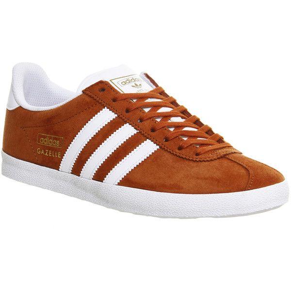 Adidas Sneakers Gazelle Og Fox Red Whiteetallic Gold