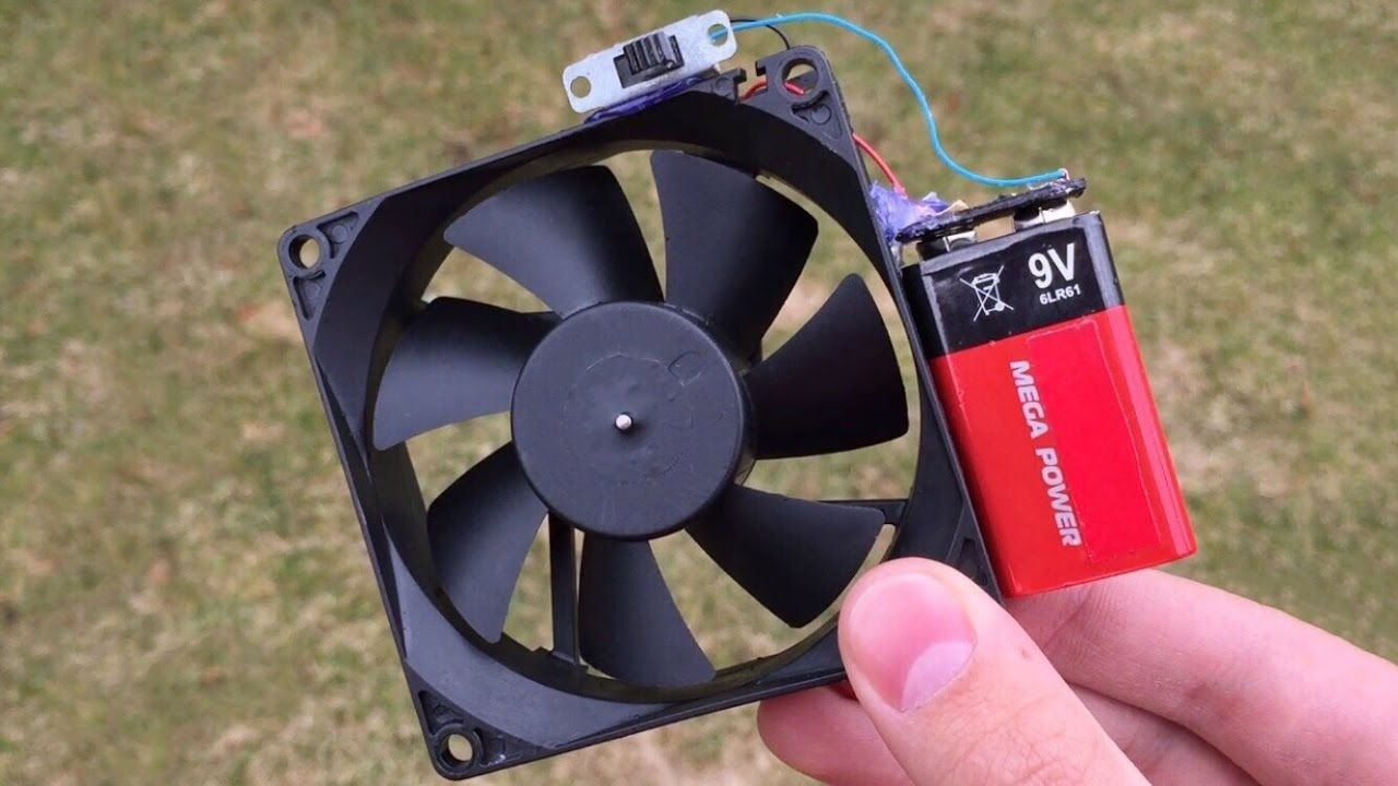 5 Incredible Ideas And Simple Life Hacks With Computer Fan 1