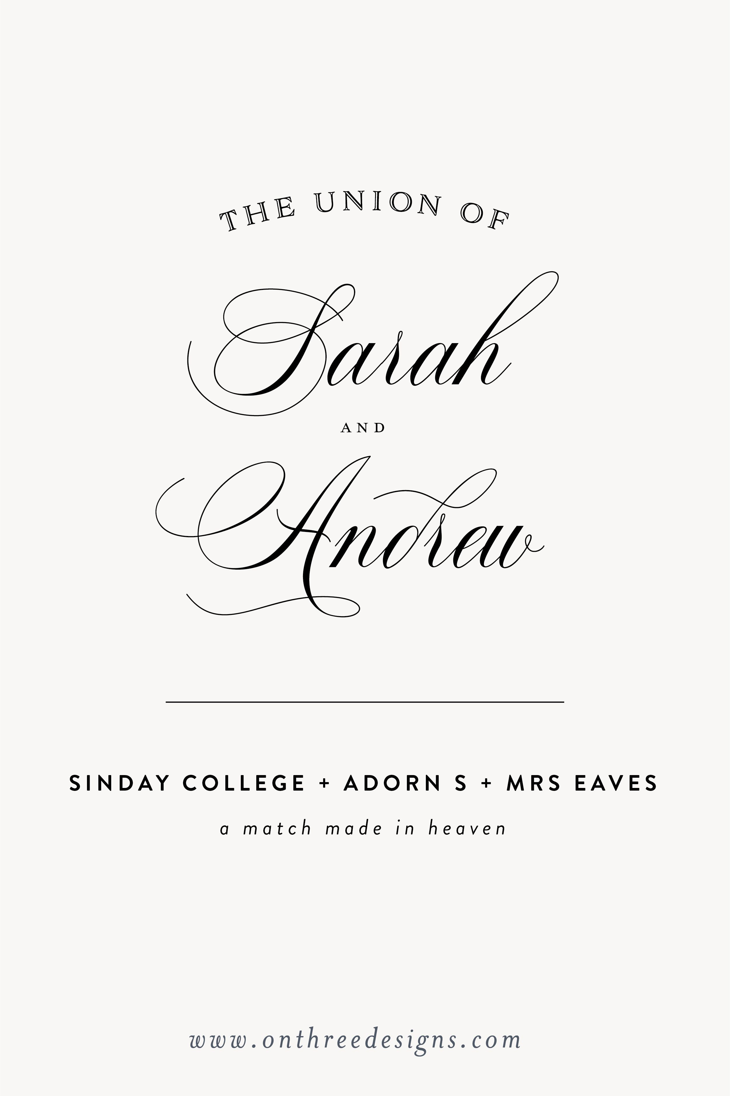Our All Time Favorite Fonts Wedding Typography Wedding