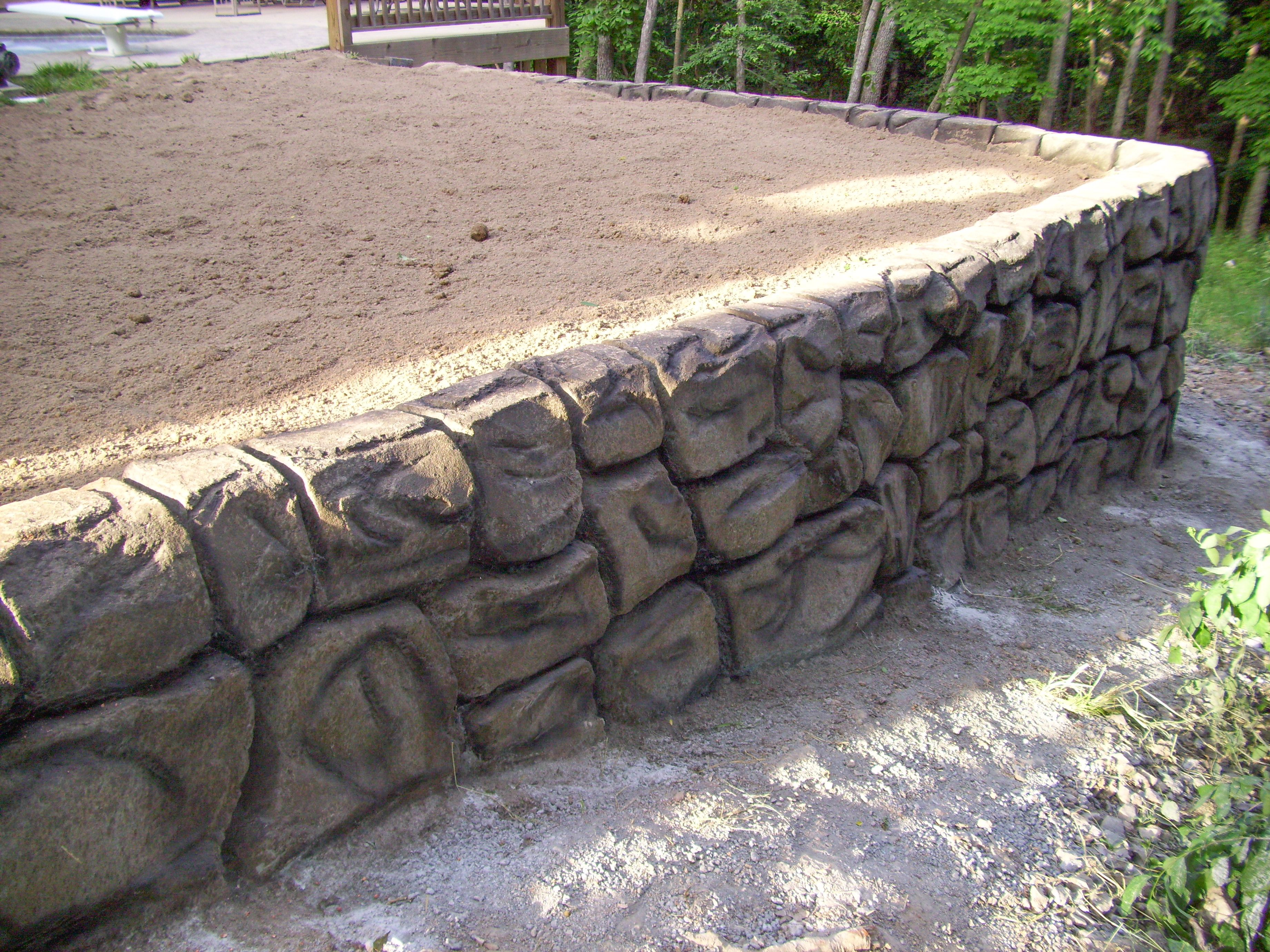 Image Result For Poured Concrete Retaining Walls Retaining Wall Concrete Retaining Walls Retaining Wall Design
