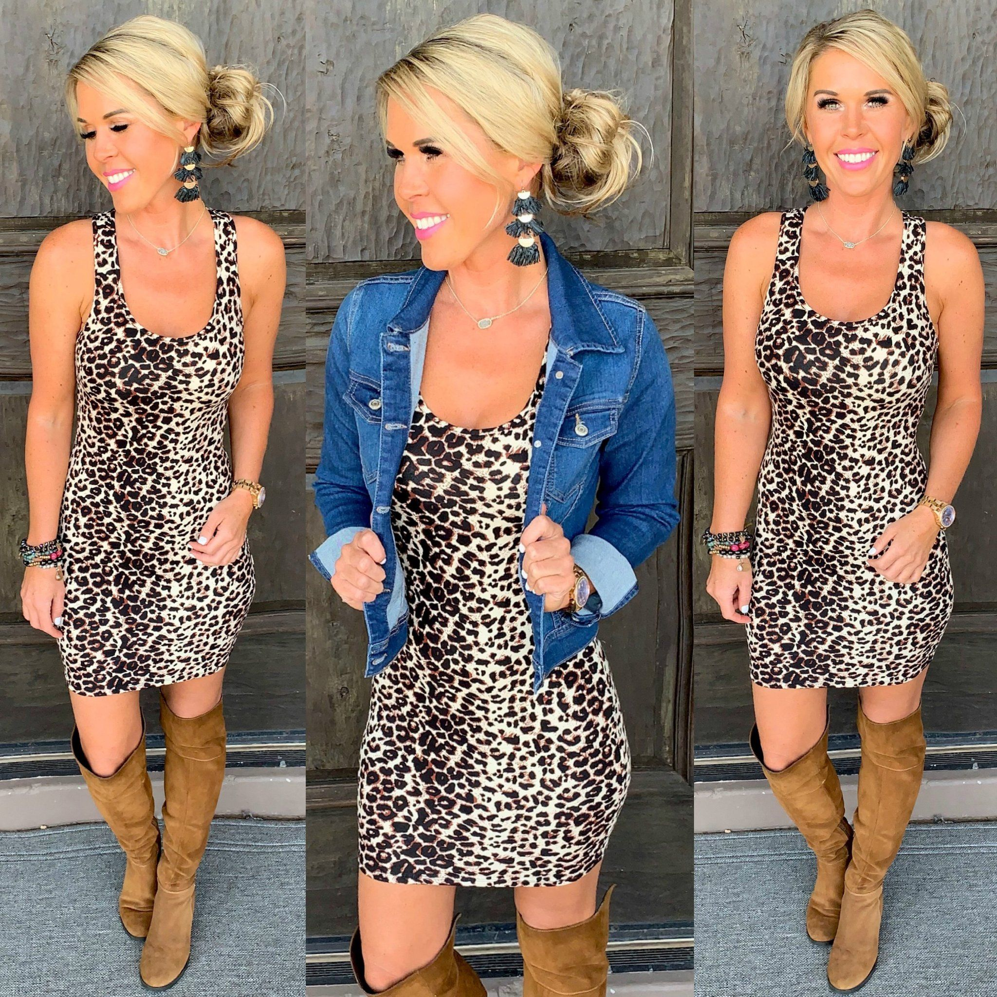Photo of Obsessed with Leopard Dress