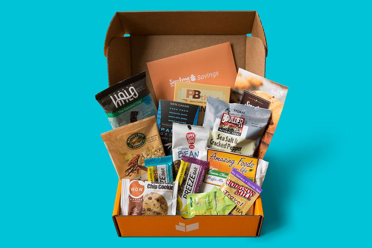 A monthly surprise of the best glutenfree products