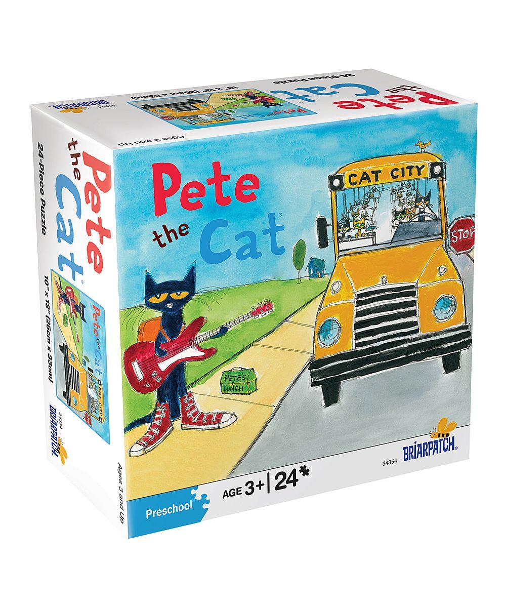 Pete the Cat Bus Stop 24-Piece Puzzle