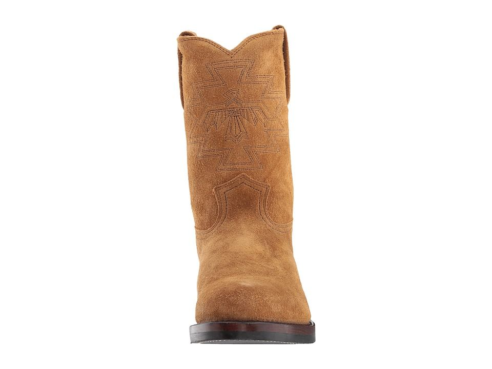 c06cb77b852 Frye Roper Frontier Stitch Men's Pull-on Boots Wheat Oiled Suede ...