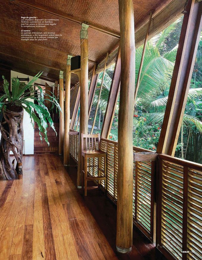 Tropical Style verana in a home in India From AD India Future - wohnzimmer amerikanischer stil