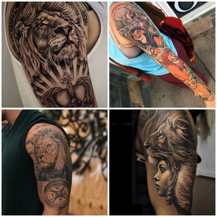 1001 coole l wen tattoo ideen zur inspiration lion tattoo lion tattoo design tattoos