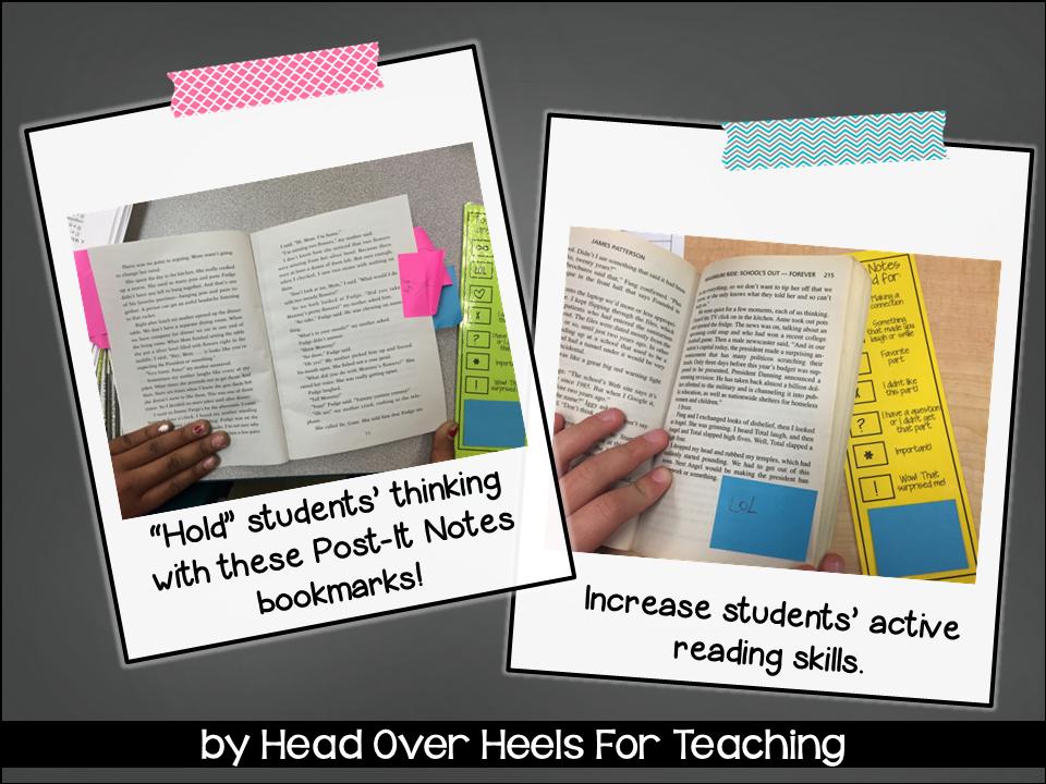 Spark Student Motivation PostIt Note Bookmarkstudents