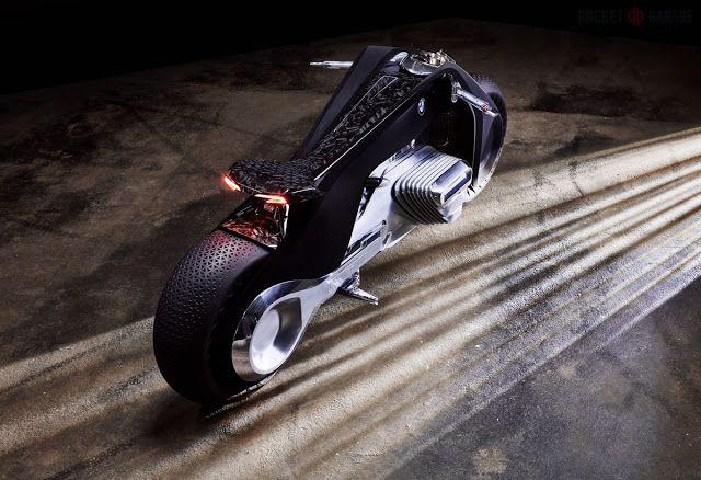 VISION NEXT 100 the Future by Bmw - RocketGarage - Cafe Racer Magazine