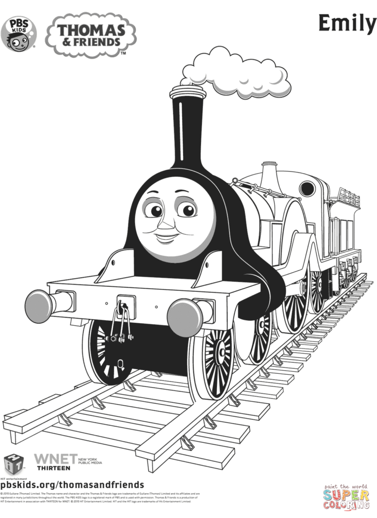 Coloring Rocks Train Coloring Pages Thomas And Friends Coloring Books