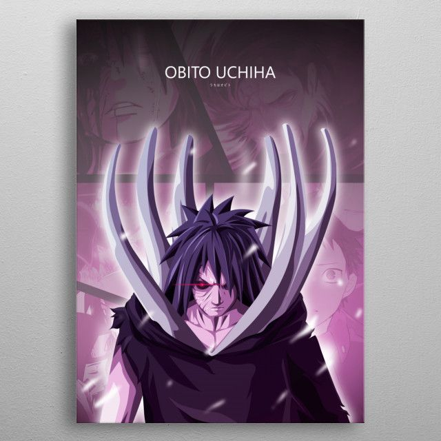 Obito Uchiha Poster made out of metal Obito Uchiha Poster made out of metal From Anime Naruto