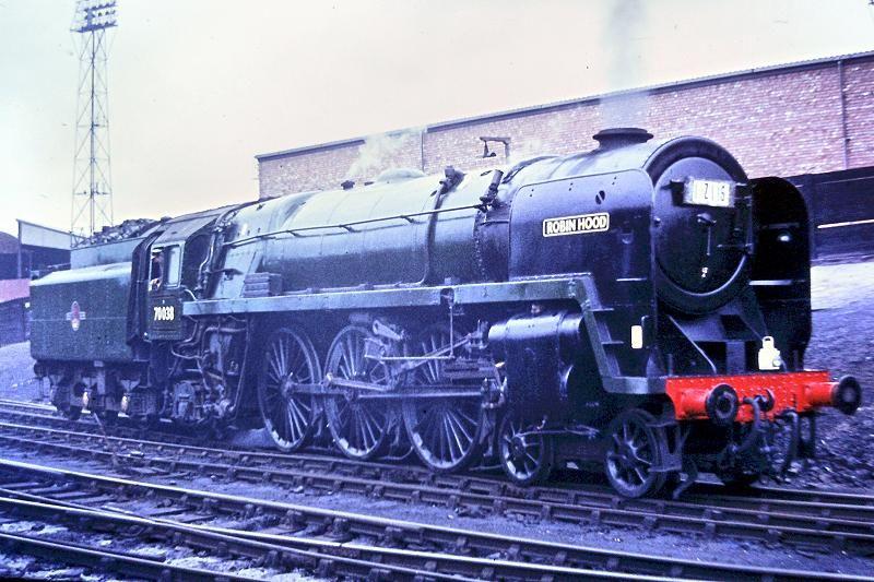 70038 Robin Hood Britannia class locomotive  Model