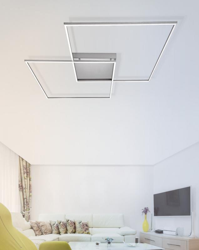 Paul Neuhaus Inigo Die Deckenleuchte, die mit langlebigen LEDs - deckenleuchte led wohnzimmer