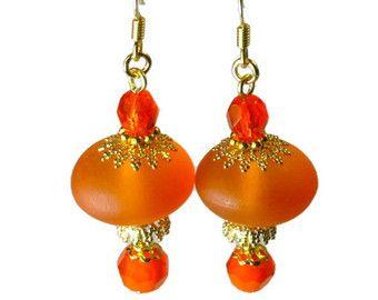 eb4e1b2f7b08 Mandarina naranja pendientes
